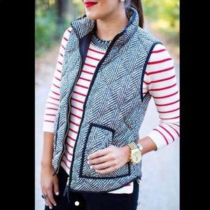 Herringbone style vest